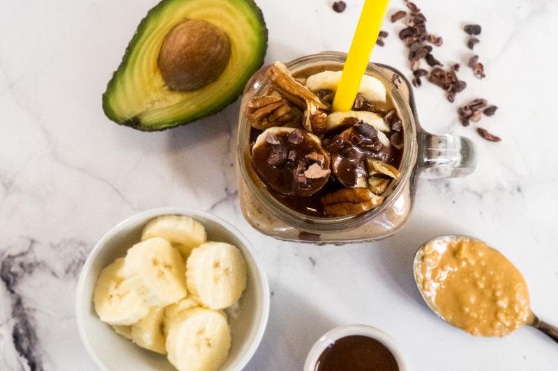 Extra-luxuriöser Chocolate Peanut Butter-Smoothie