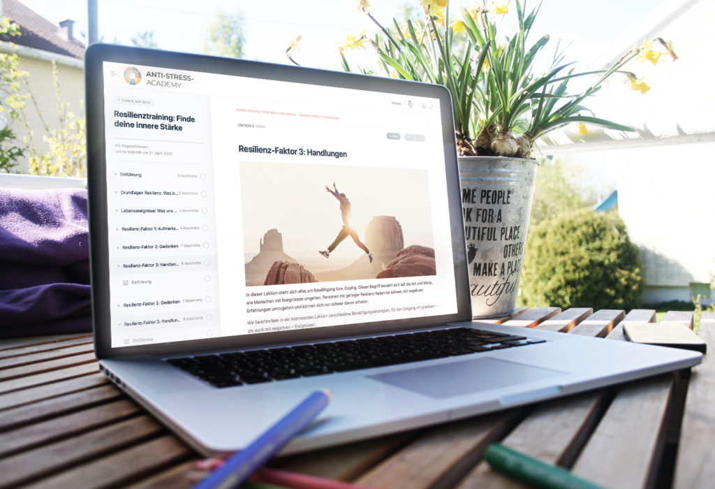 Online-Kurse Stressmanagement